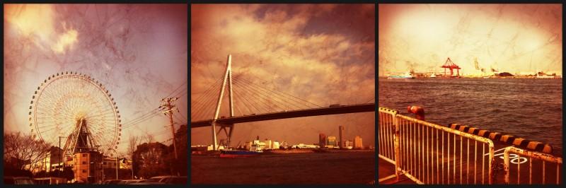 PicMonkey Collage Osaka Hafen