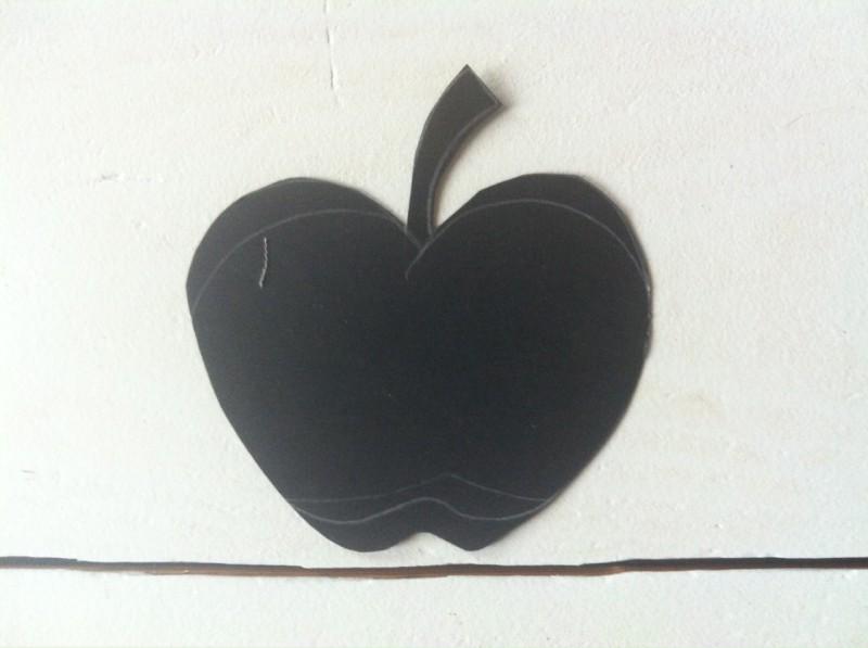 Schnittmuster Apfel