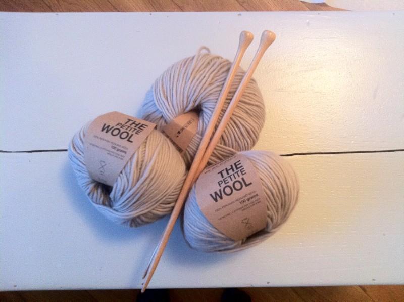 Wolle aus Peru, perlgrau